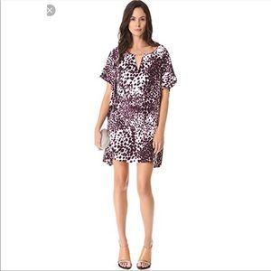 Diane Von Furstenberg Beonica  Silk Dress Medium